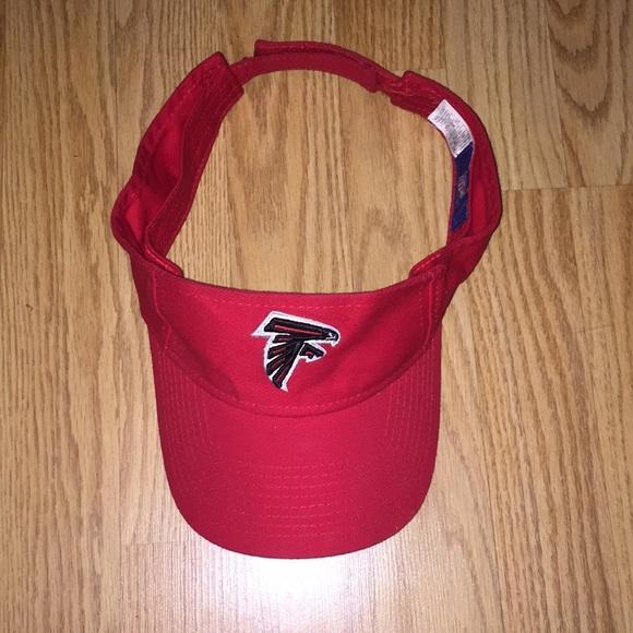 45881d7e Atlanta Falcons NFL Red Visor